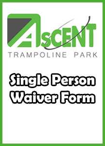 Single Waiver Form