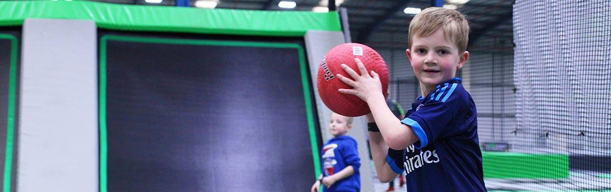 Ascent Tramopline Dodgeball Blackpool