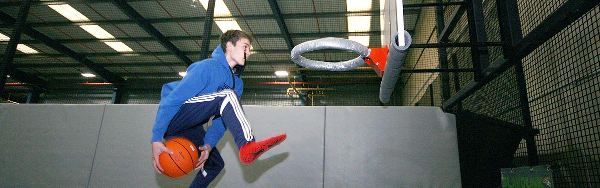 Ascent Trampoline Basketball north west Blackpool Lancashire
