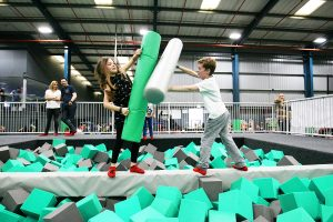 Ascent Trampoline Park - Ninja Assault Course
