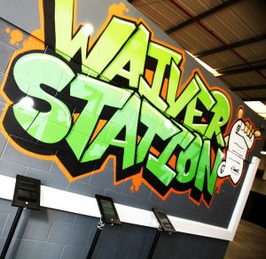 Ascent Trampoline Park - Waiver Station