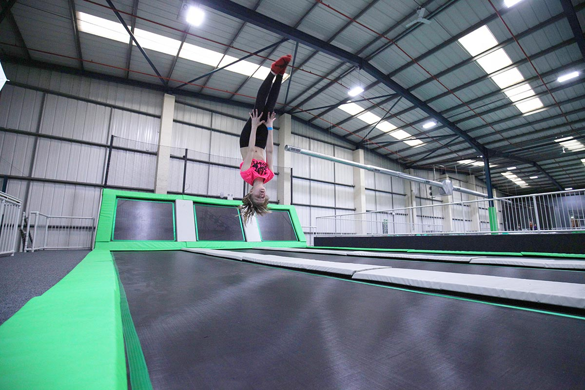 Ascent Trampoline Park - Flip Zone