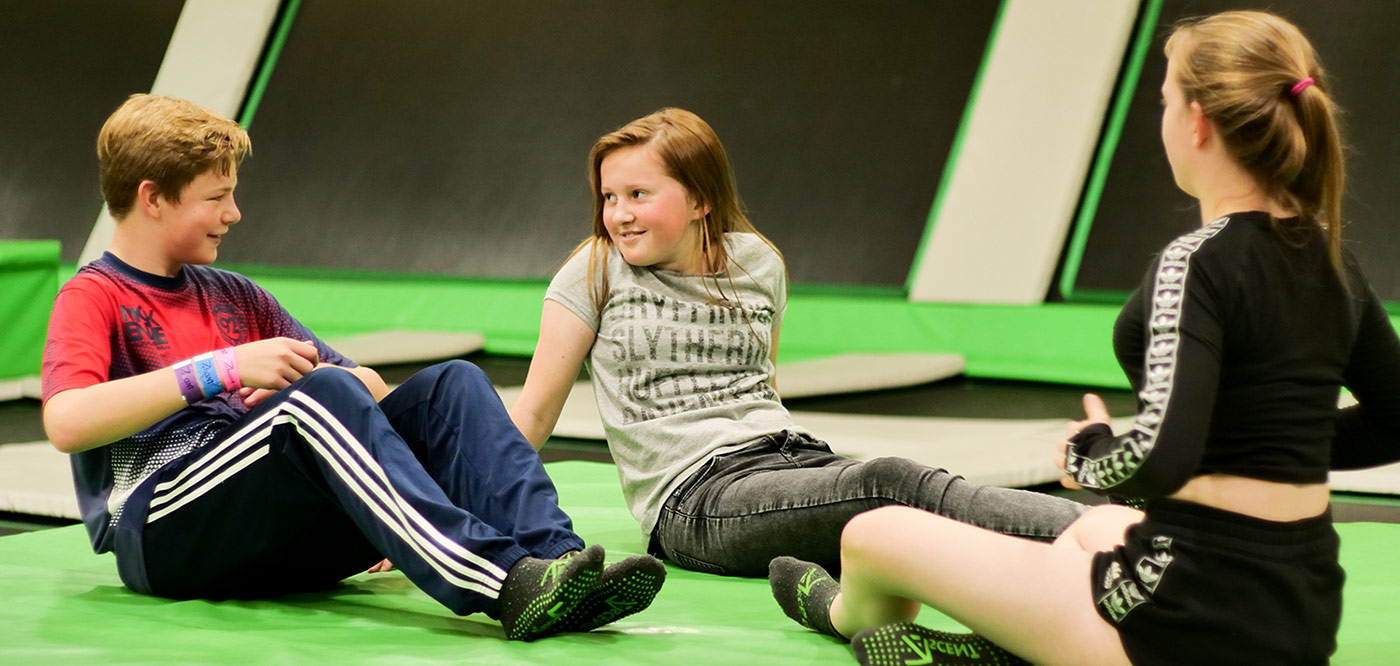 ascent trampoline Holiday Camp